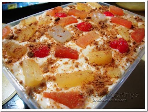 Refrigerated cake